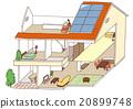 房屋 房子 住宅的 20899748