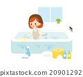 bath bathroom cleaning 20901292