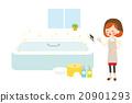 bath bathroom female 20901293