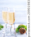 Two Champagne Glass 20901983