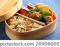 日式便當 煮雜燴飯 曲木 20906000