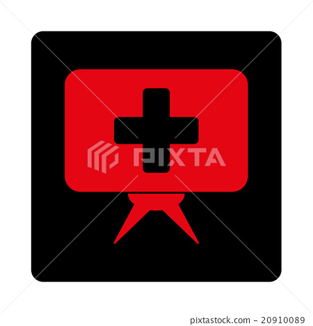 Healthcare Presentation Flat Button 20910089
