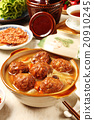 Braised pork balls in soy sauce 20910245