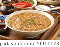 Taiwan famous food - pork intestine thin noodles 20911178