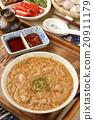 Taiwan famous food - pork intestine thin noodles 20911179