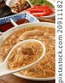 Taiwan famous food - pork intestine thin noodles 20911182