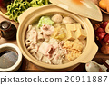 Chinese cabbage and pork hot pot               20911887