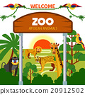 animal, african, colorful 20912502