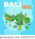 Background Map Bali Travel  20912547