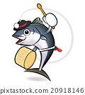 Korean dance a tuna Character Design.  20918146