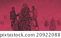 Family Celebrating Christmas Decoration Tree Concept 20922088