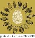 Fingerprint Identity Scanner Protection Verification Cocnept 20922999