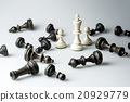 Chess figure, business concept strategy, leadershi 20929779