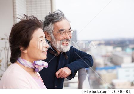 老人 夫婦 一對 20930201