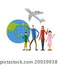 国外旅游 家庭 家族 20939938