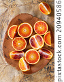 Blood orange fruit 20940586