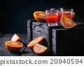 Cocktail with Blood oranges 20940594