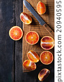 Blood orange fruit 20940595