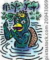 妖怪 河童 怪物 20943069