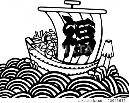 藏寶船 矢量 水手 20943655