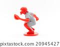야구 포수 포수 : Baseball catcher 20945427