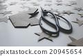 Japanese scissors and paper stars 20945654
