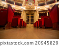 Theater,  interior view, entrance and seats 20945829
