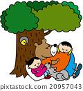 动物 熊 睡午觉 20957043