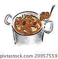食物 罐子 食品 20957559