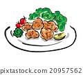 食物 油炸食品 食品 20957562