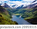 Geiranger fjord, Norway. 20959315