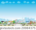 街道 市容 医院 20964375