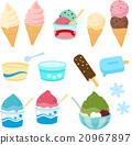 ice, cream, shaved 20967897