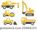 construction vehicle, automobile, car 20968153