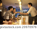 男人 餐 進餐 20970976