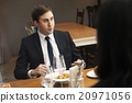 午飯 生意人 男性白領 20971056