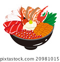seafood, bowl, japanese 20981015
