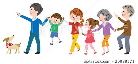 家庭 家族 家人 20989371
