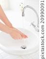 盥洗室 下沉 洗脸盆 20990091
