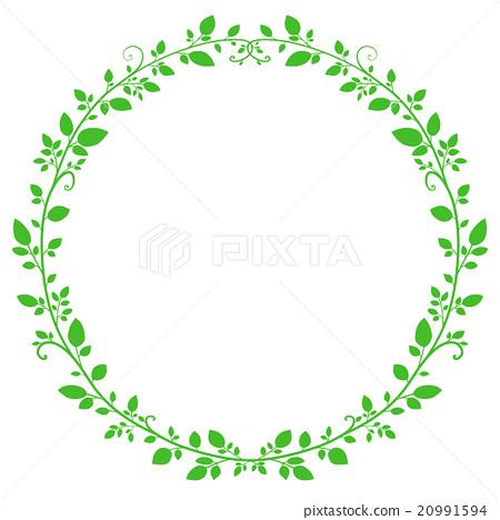 frame, frames, leaf - Stock Illustration [20991594] - PIXTA