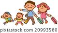 家人去旅行 20993560
