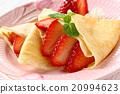 绉布 甜点 甜品 20994623