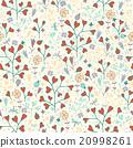 Spring flower pattern 20998261