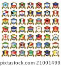 國旗 插畫 插圖 21001499