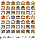 國旗徽章圖 21001501