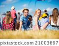 festival, friends, group 21003697