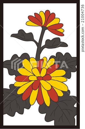 화투 · 9 월 · 국화 · 4 번째 21004736