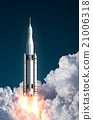 Space Launch System Takes Off In The Clouds 21006318