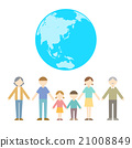 Flat icon People Family Eco 21008849
