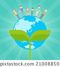 Flat icon People Family Eco 21008850